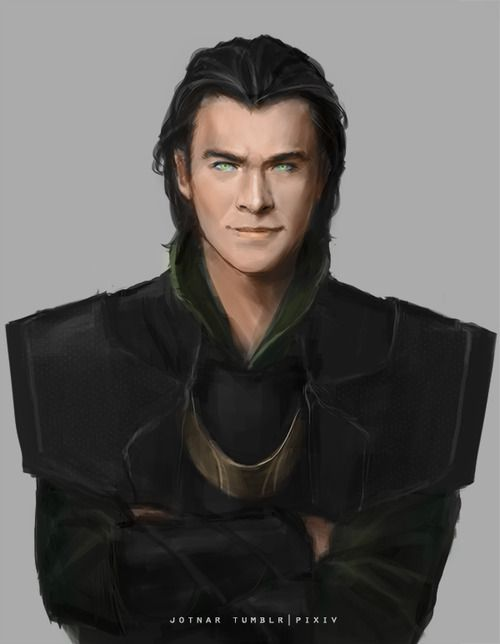 Chris as Loki? My brain is having trouble comprehending this...I...I think I might like it...