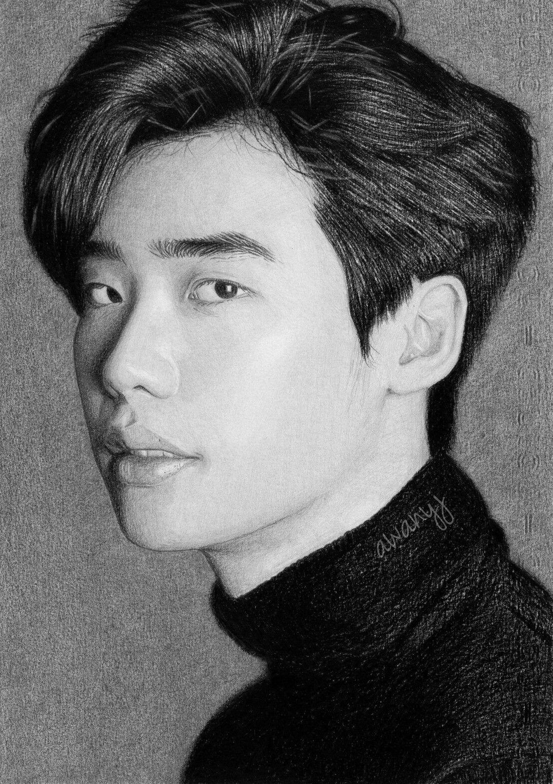 Draw drawing pencil portrait pensil lukisan gambar awanyj