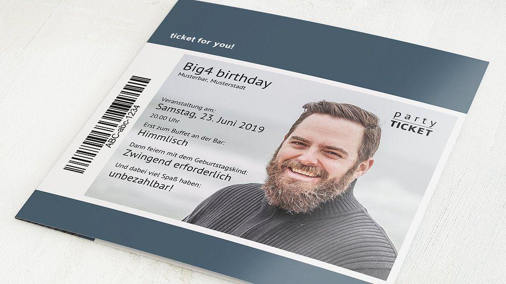 Einladungskarten 40 Geburtstag Selbst Gestalten