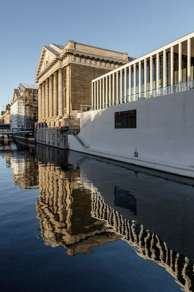 David Chipperfield Architects Completes Berlin S James Simon Galerie David Chipperfield Architects David Chipperfield Architecture Conservation Architecture