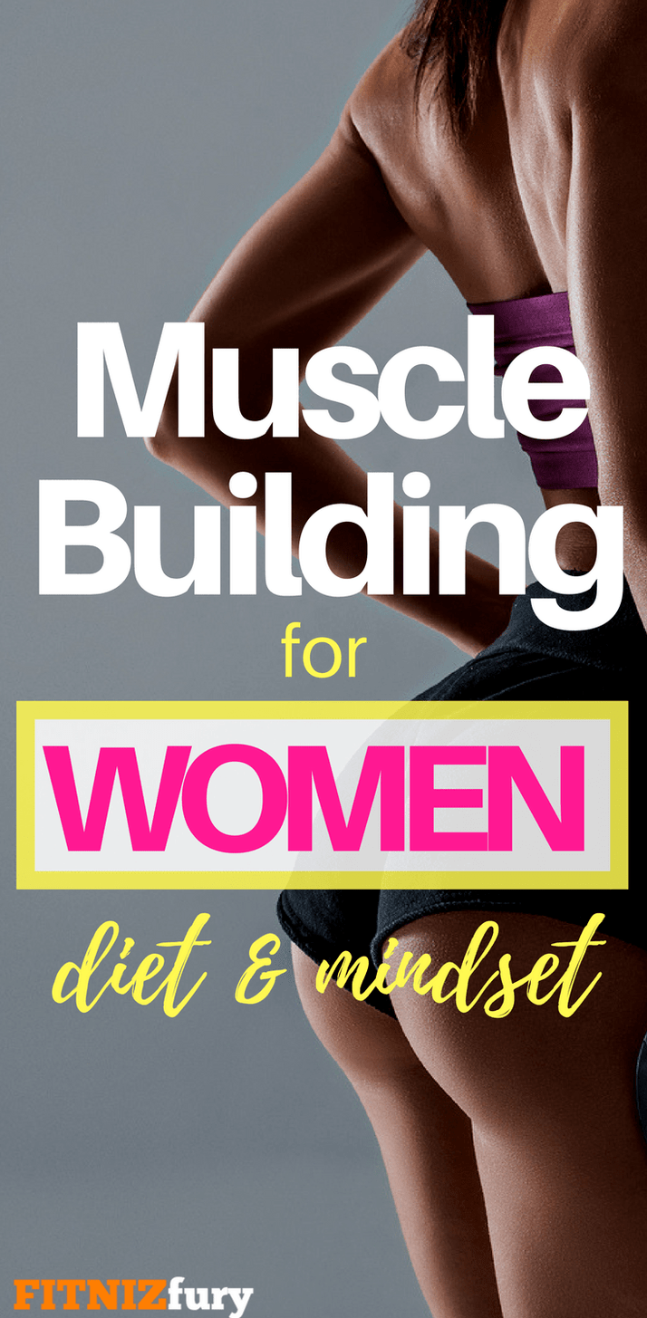 How many calories should women eat to gain muscle