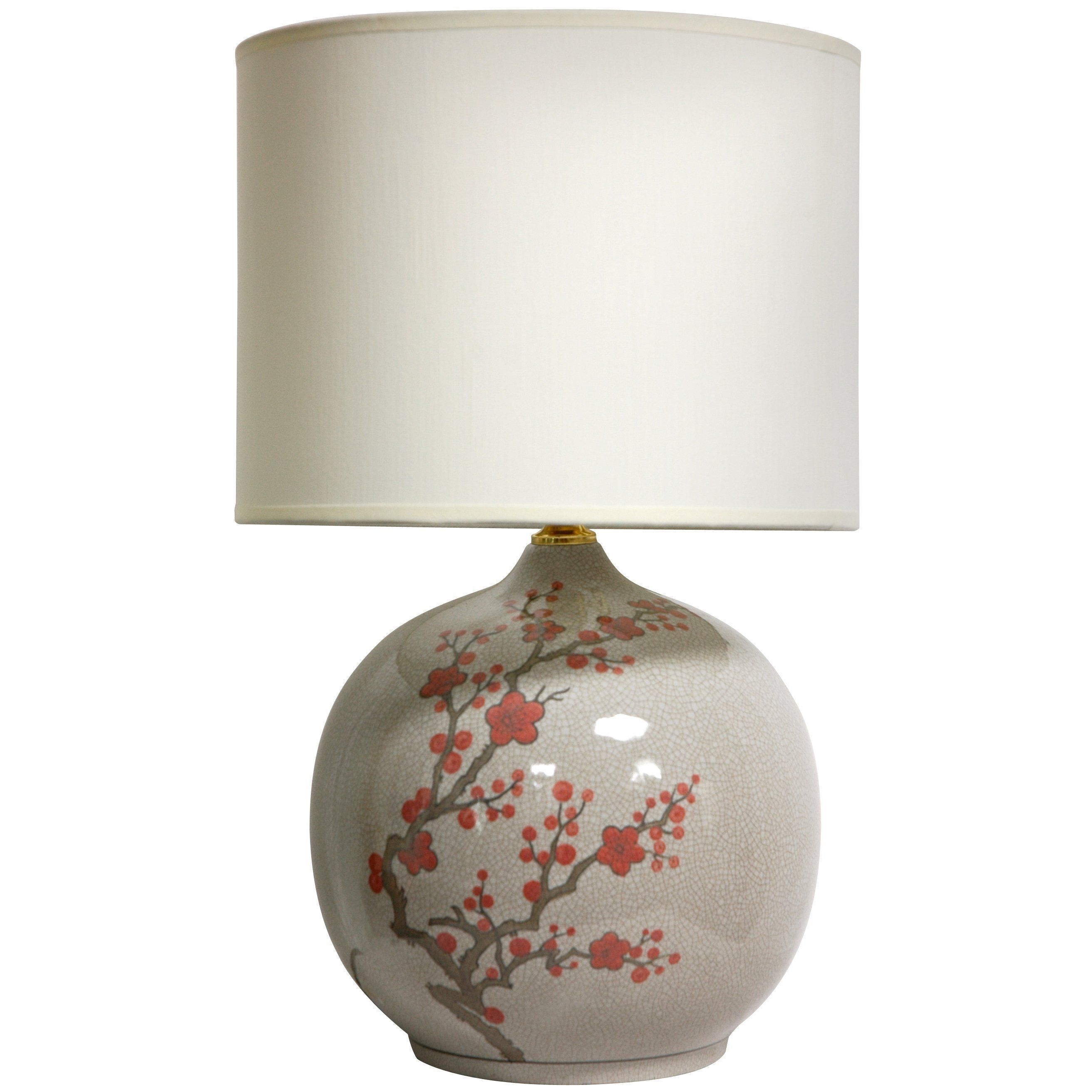 <li>Add a touch of China to your home with this stylish vase lamp  <li>Elegantly handcrafted by artisans in China's Guangdong province <li>Truly unique table lamp will complement any decor