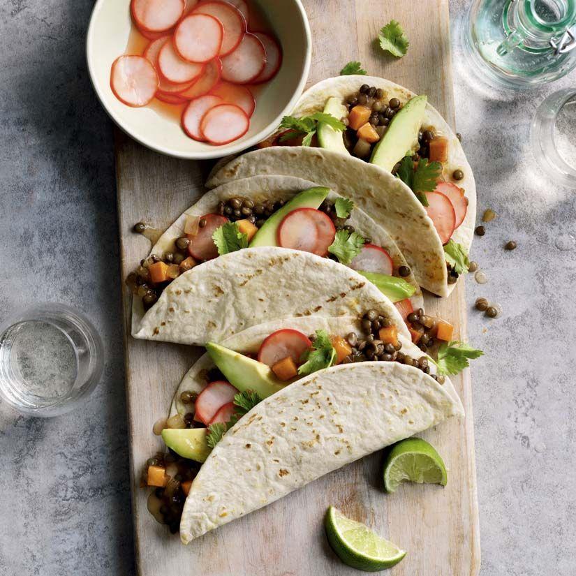 10 Manieres De Reinventer Le Pot Mason Must Try Recipes Sweet Potato Tacos Potato Tacos Tacos