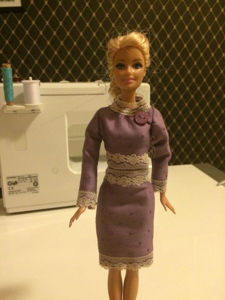Barbie Kleid Selber Nähen Video Dazu Erscheint In Kürze Barbie