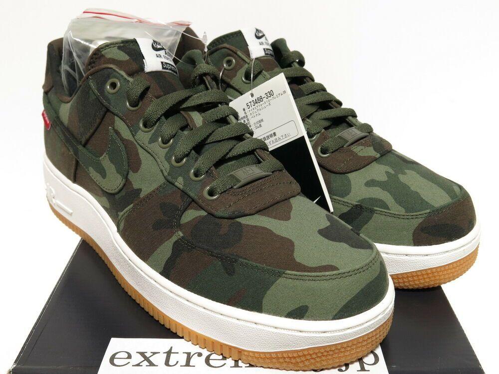 2019 Supreme x Nike Air Force 1 Low Premium '08 NRG