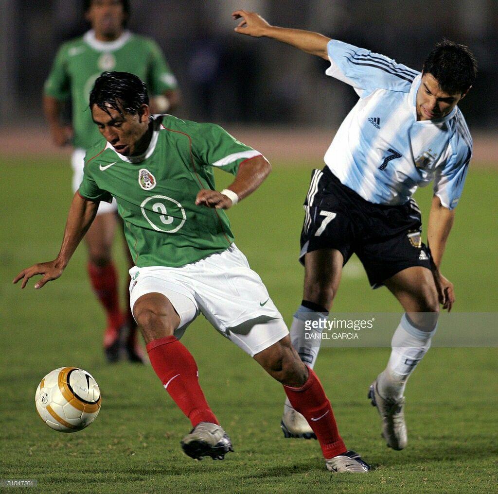 Mexico 1 Argentina 0 in 2004 in Chiclayo. Omar Briceno