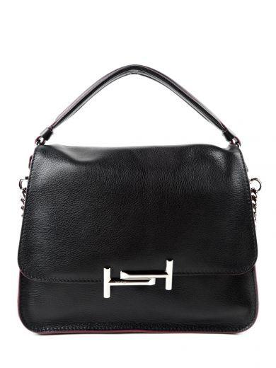 433767f2a51 Medium Venice  Calfskin Leather Crossbody Bag, Black   Tod s ...