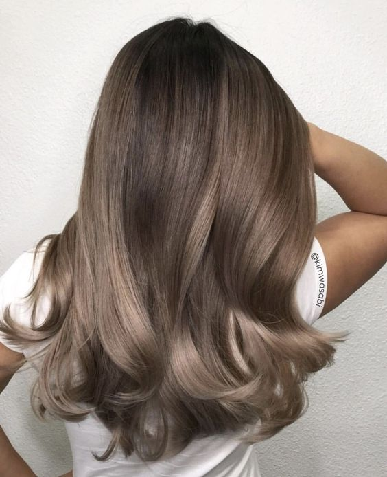 35 Smoky And Sophisticated Ash Brown Hair Color Looks Part 4 Ash Brown Hair Color Long Hair Styles Hair Shades