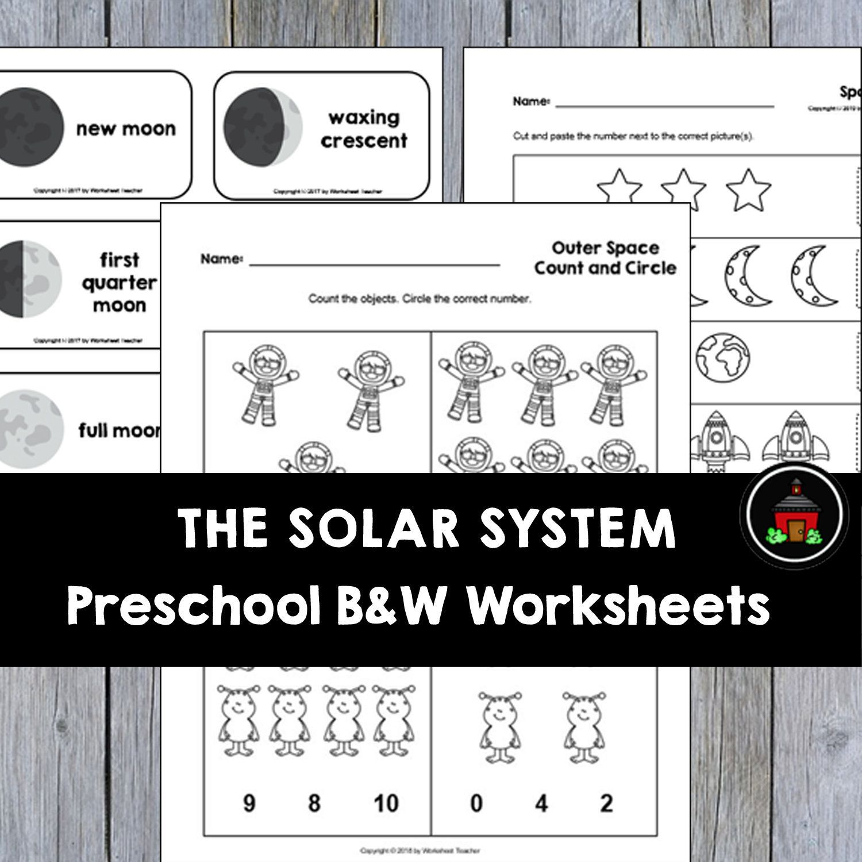 10 The Solar System Preschool Curriculum Activities