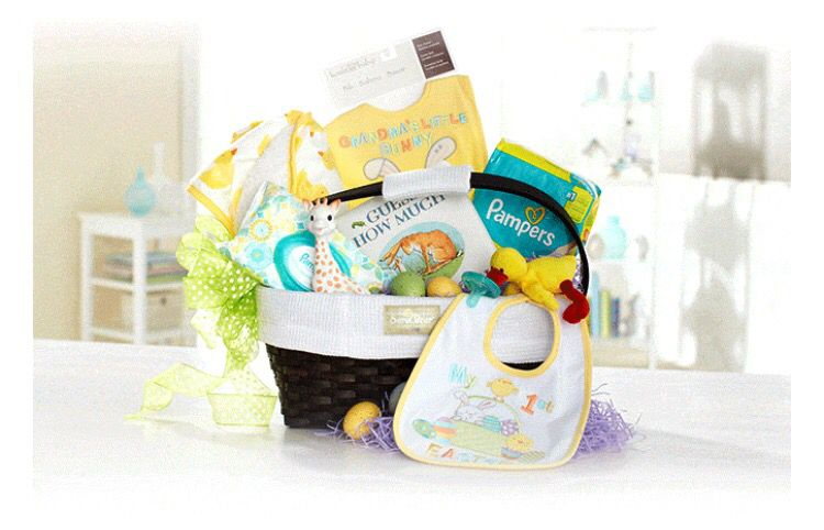 Baby easter basket easter pinterest baby easter baby easter basket negle Image collections