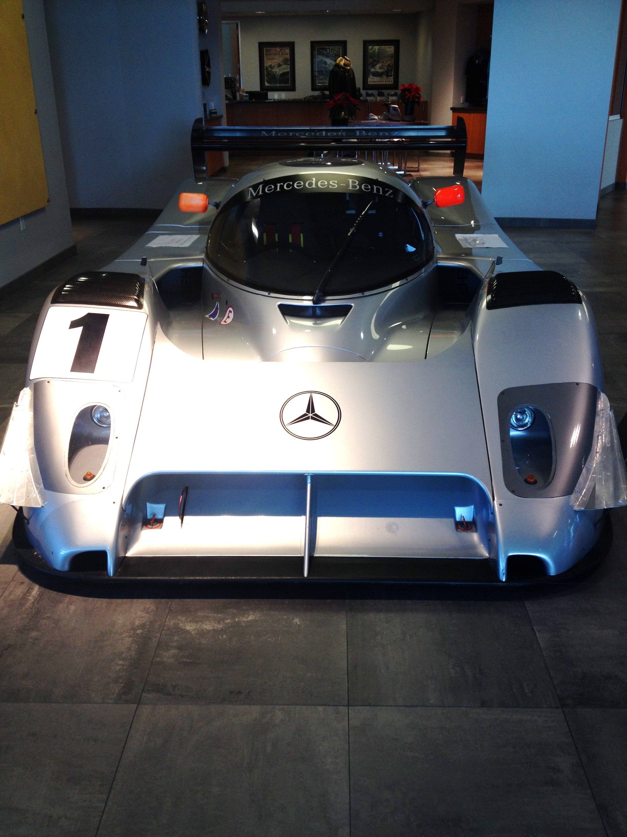 Mercedes Benz Race Car.