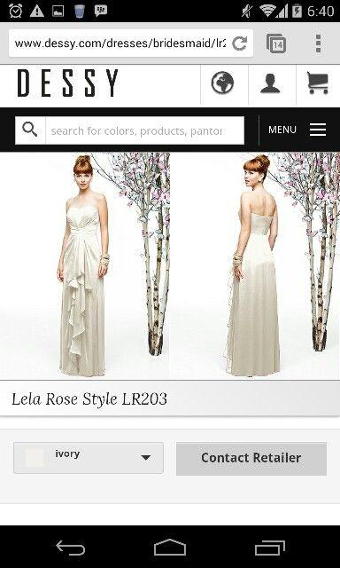 Lela rose bridesmaid style LR203