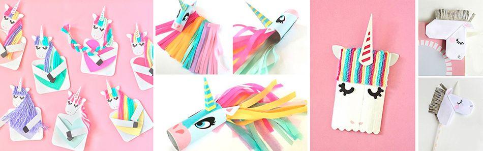 manualidades para niños de unicornio - Stars\Rockets Blog cumple