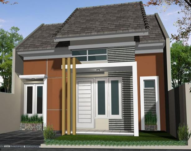 Desain Rumah Minimalis Modern 1 Lantai Type 45 Rumah Minimalis Desain Rumah Rumah