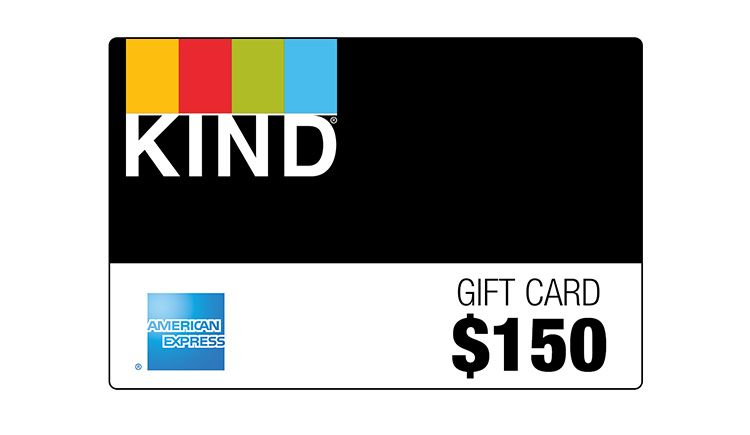 Win a $150 American Express Gift Card, Courtesy of KIND!