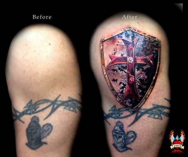 knights templar tattoo mom custom tattoo and design tats pinterest tattooed mom. Black Bedroom Furniture Sets. Home Design Ideas