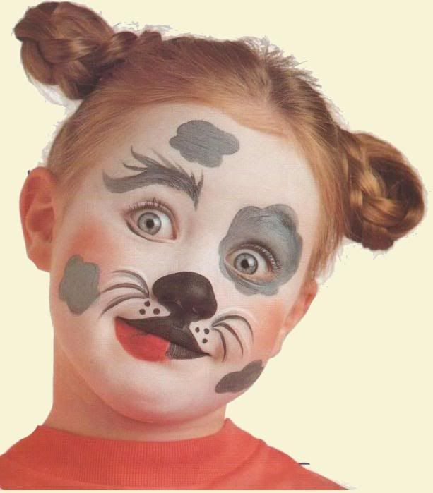 Maquillaje artistico infantil paso a paso fotos 30