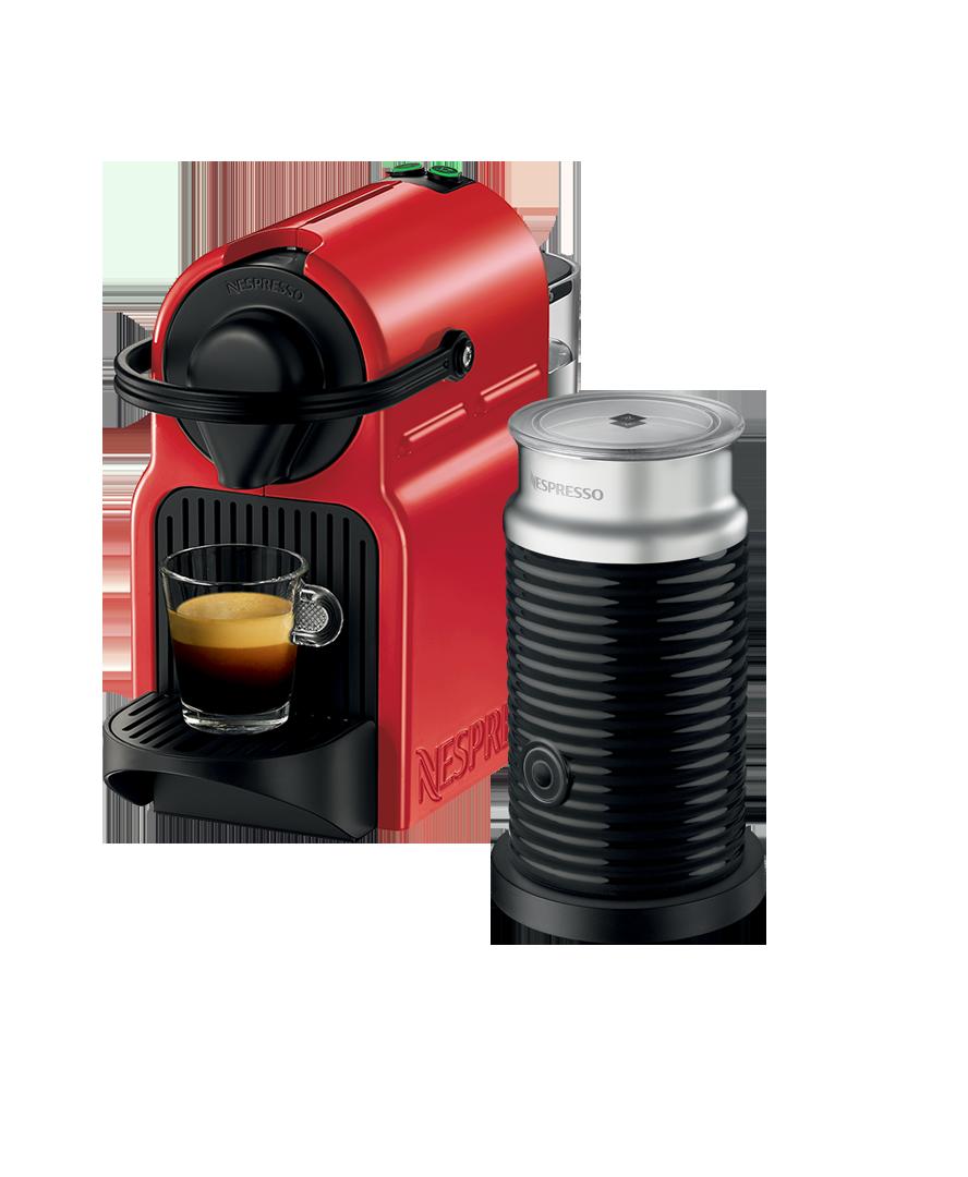 Inissia Breville Ruby Red Nespresso, Coffee machine