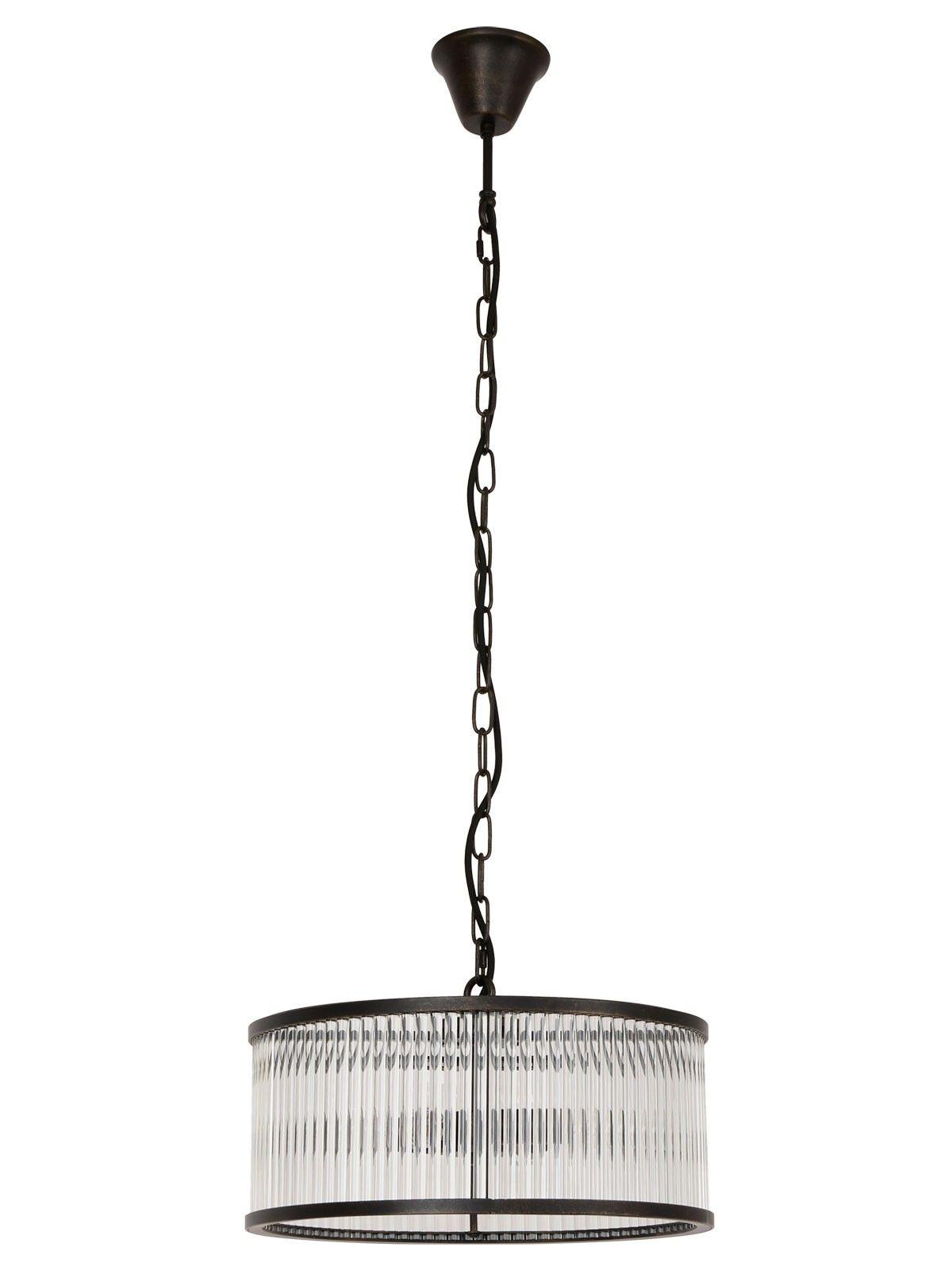 Corbelle 4 Light Pendant In Antique Black Lighting