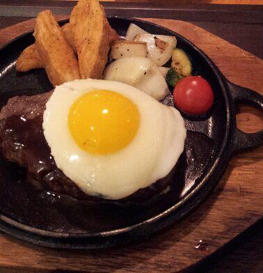 Salisbury steak (함박 스테이크)