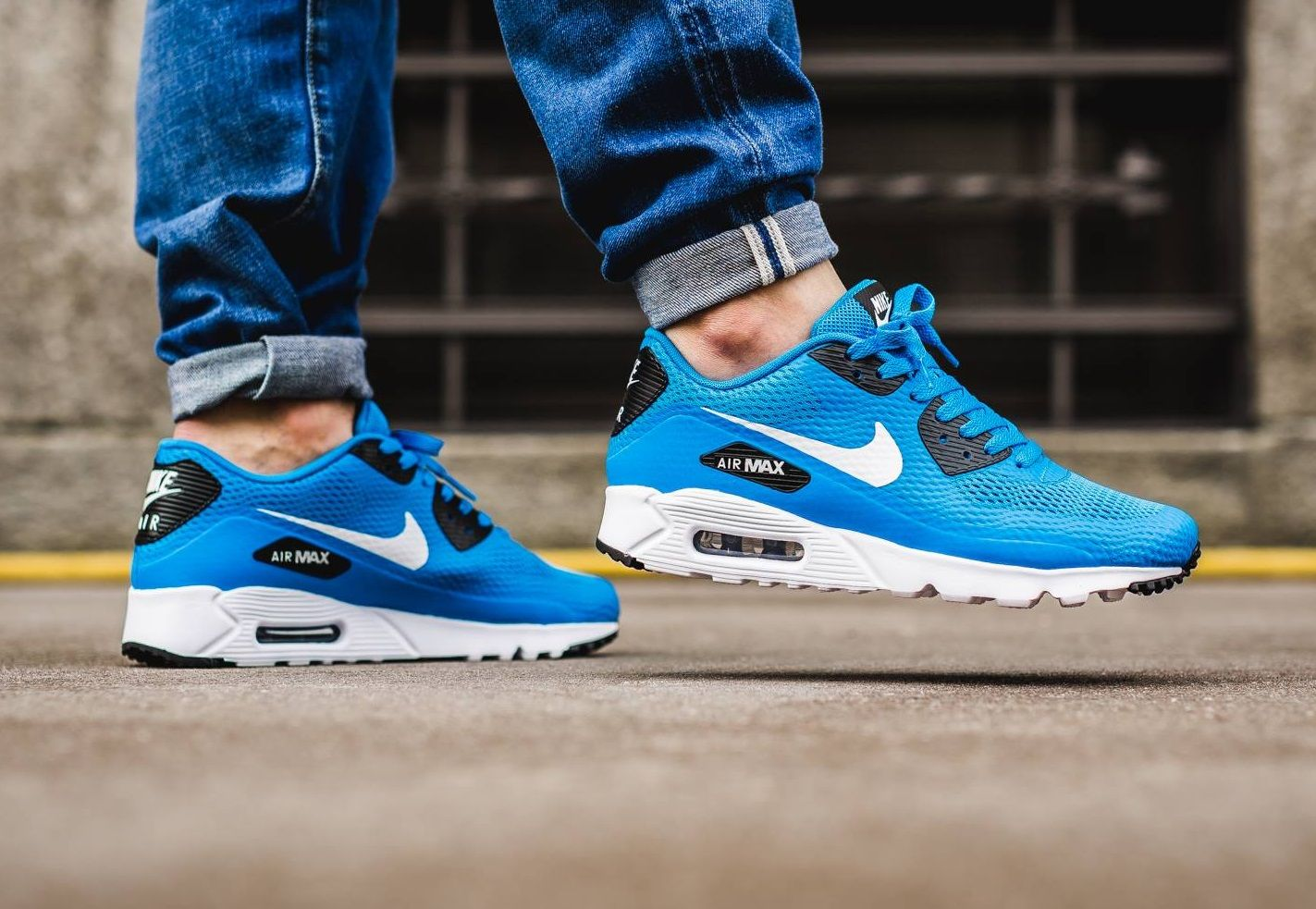 wholesale dealer e8d63 9db91 Nike Air Max 90 Ultra Essential: Heritage Cyan | Nike Air ...
