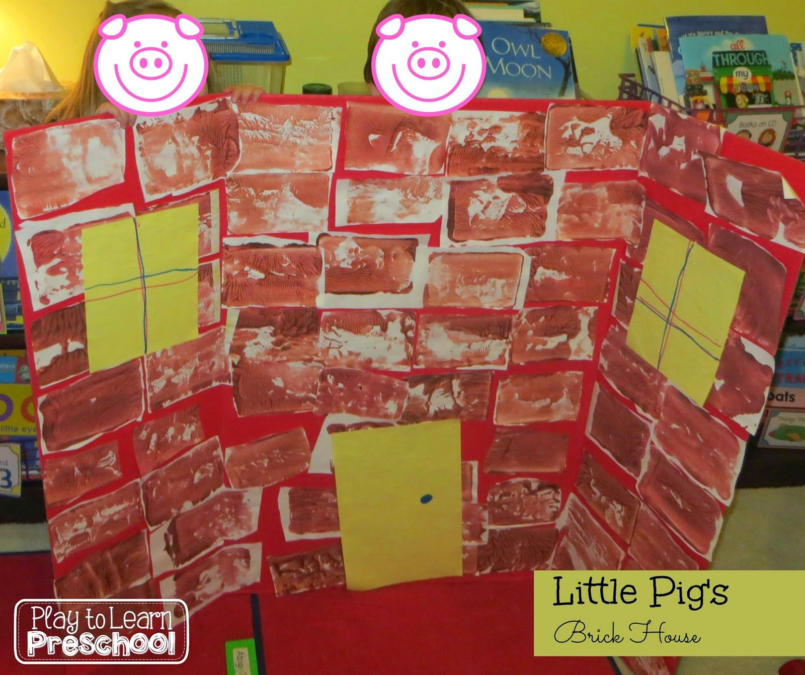 The Three Little Pigs Brick House