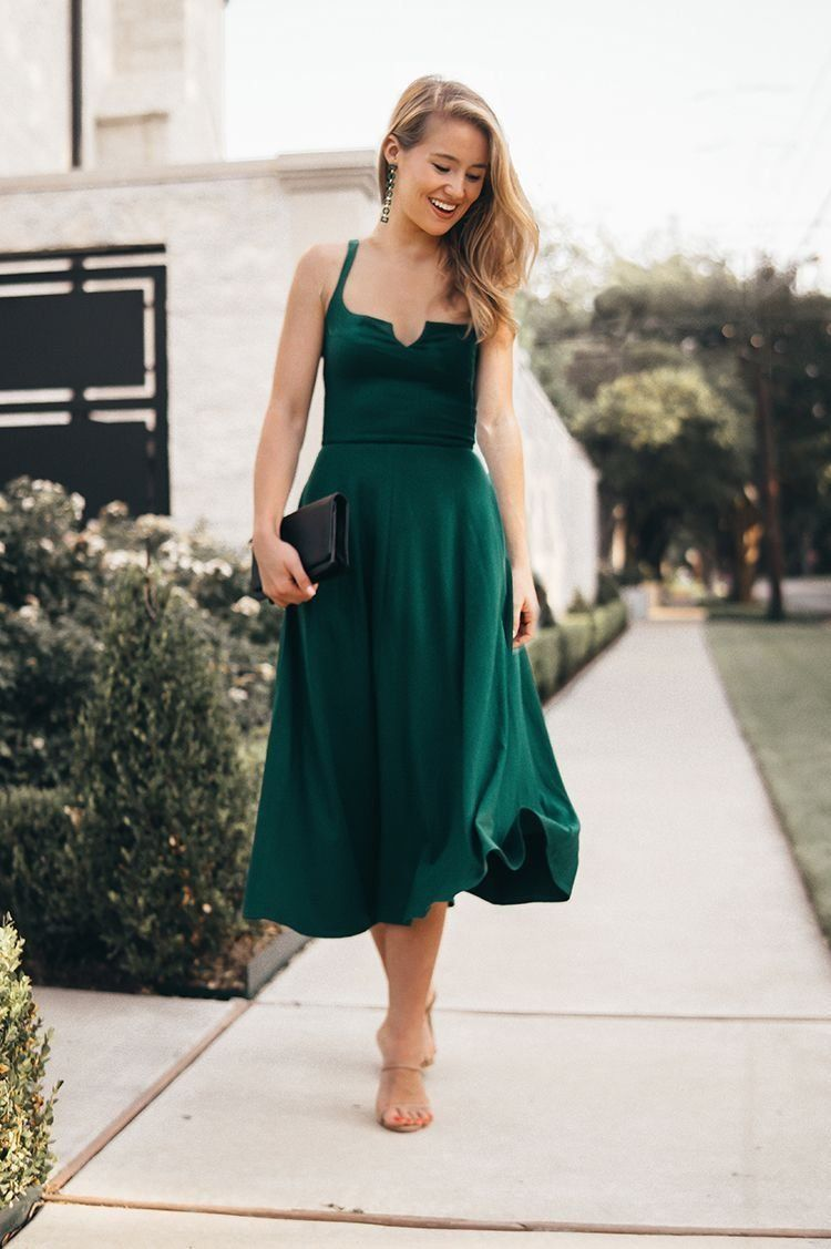 best dressed wedding guest  6  Fall wedding guest dress