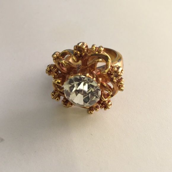 Gold Flower Ring Gold Flower Ring Jewelry Rings