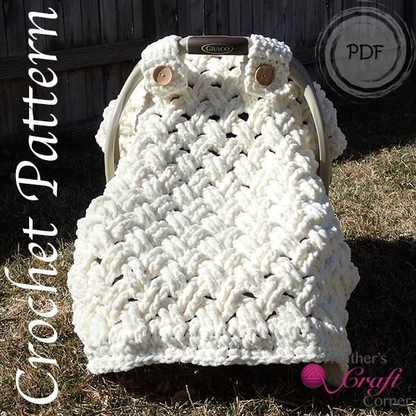 Chunky Celtic Weave Car Seat Canopy Car Seat Canopy Car Seats And