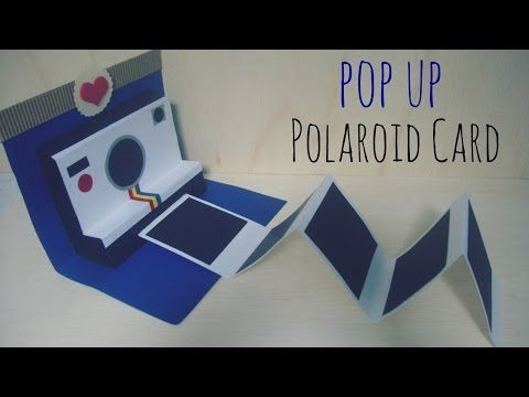 Manualidades para Regalar Pop-Up Polaroid Card❤ - YouTube