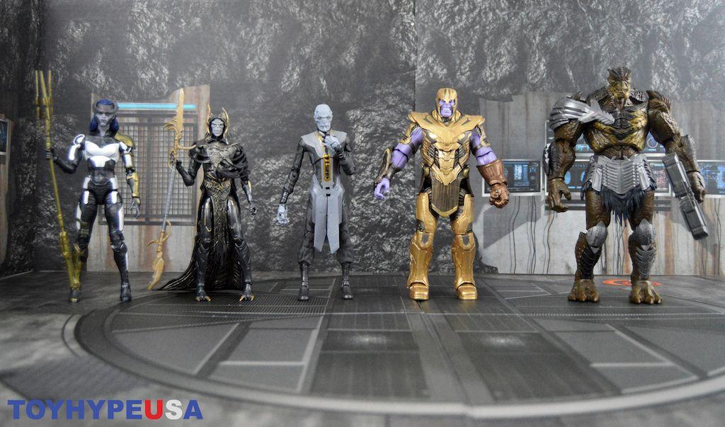 "Endgame Wave 1 Nighthawk Marvel Legends 6/"" Avengers ARMOURED THANOS BAF"