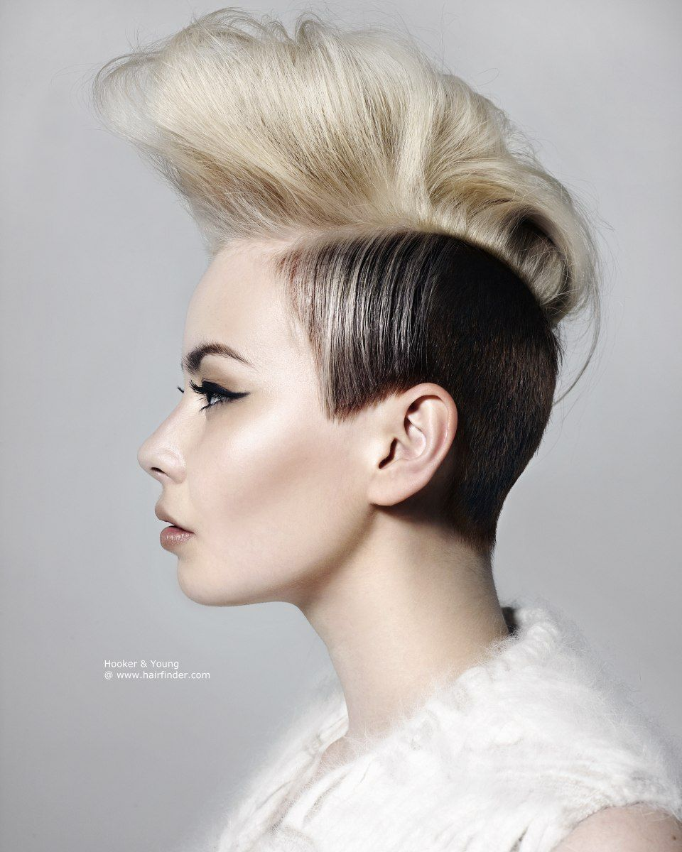 Woman Mohawks Hairstyles Women Mohawk To Download Short Hairstyles