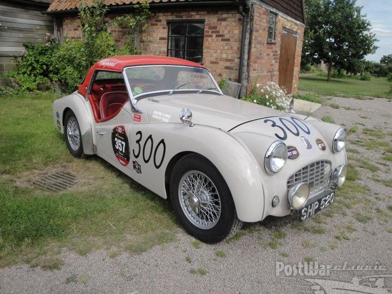 Triumph TR3 sports