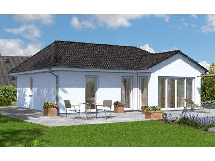 bungalow 78 einfamilienhaus von town country haus lizenzgeber gmbh hausxxl bungalow. Black Bedroom Furniture Sets. Home Design Ideas