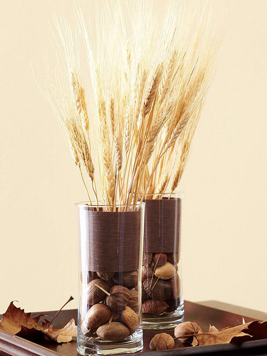 Decorating & Natural Elements for Fabulous Fall Decor | Jar Thoughts and Wraps