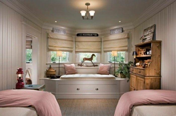 40 Ideen Fur Schone Kinderzimmer Fensterdeko Home Pinterest