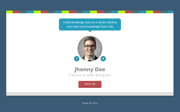 Download  Bryson  Vcard  Resume  Portfolio  Bootstrap Theme