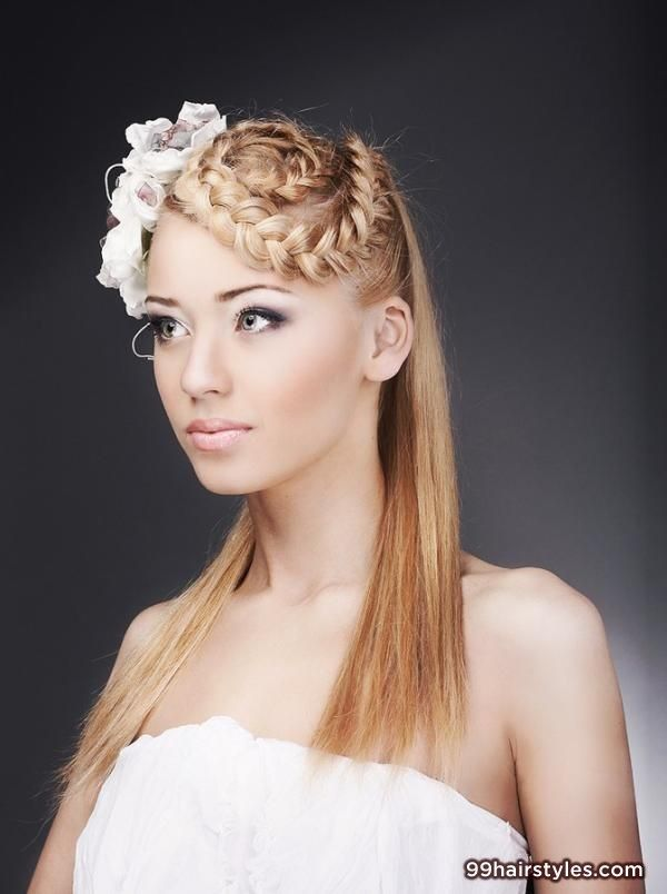 wavy blonde wedding hairstyle - 99 Hairstyles Ideas