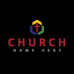 Geometric Trinity Church Logo (10211)