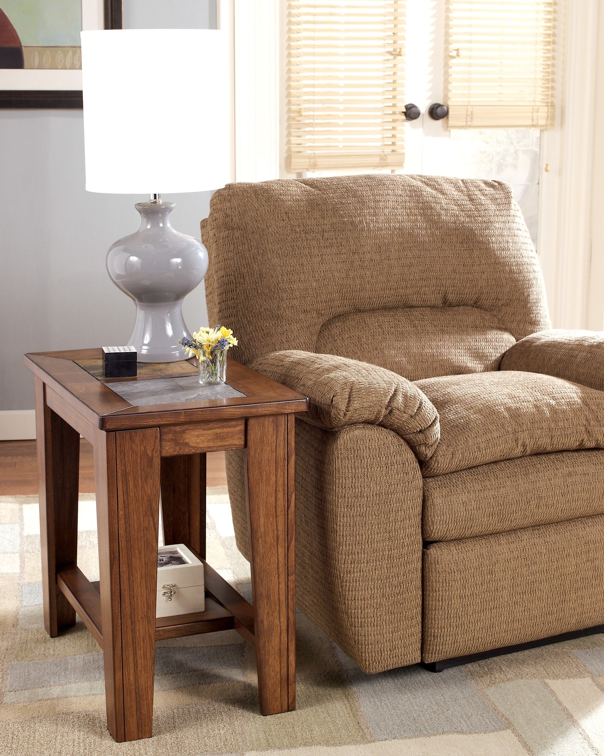 Ashley toscana t3537 signature design chair side end
