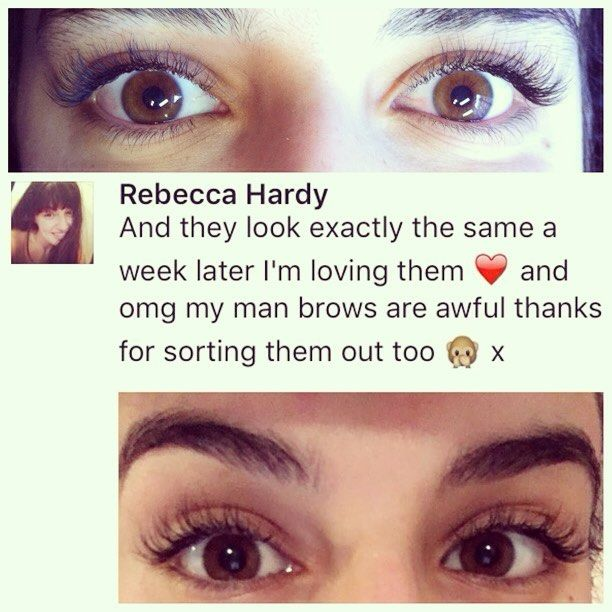 Nothing Nicer And More Rewarding Than Client Feedback Lashes