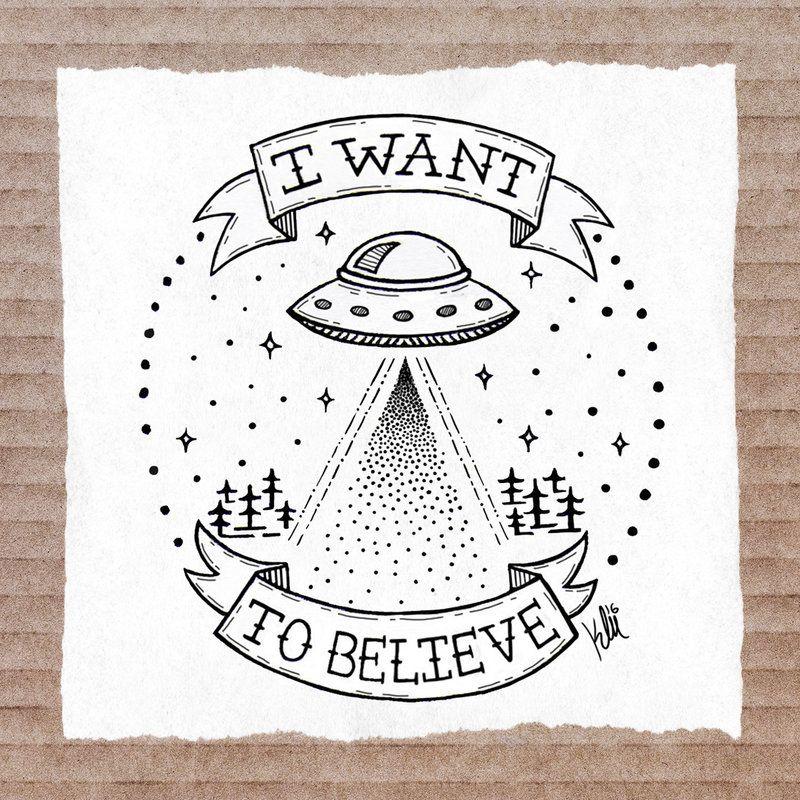 X Files Tattoo Ideas: Tattoo I Want To Believe By Inzanita On DeviantArt