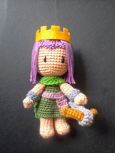 Ravelry: Clash of Clans - Archer Queen Amigurumi pattern by Ria ...