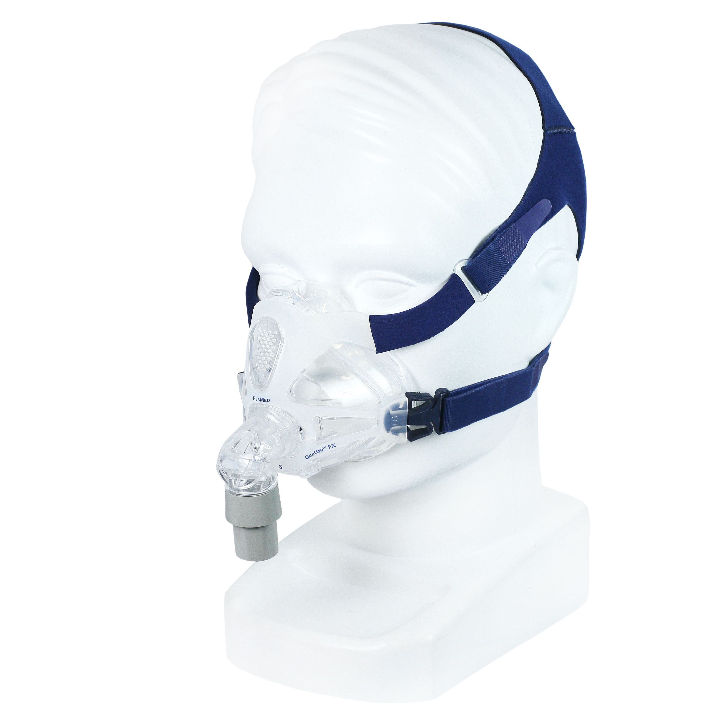 ResMed Quattro FX Full Face Mask w/ Headgear Full face