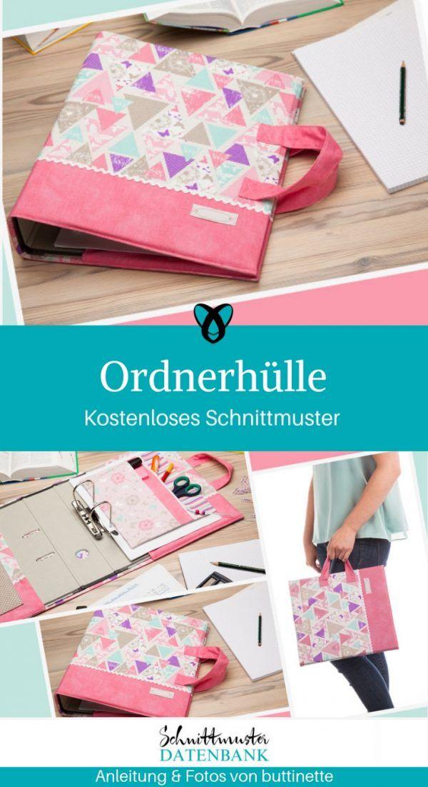 Photo of Ordnerhülle mit Tragegriffen