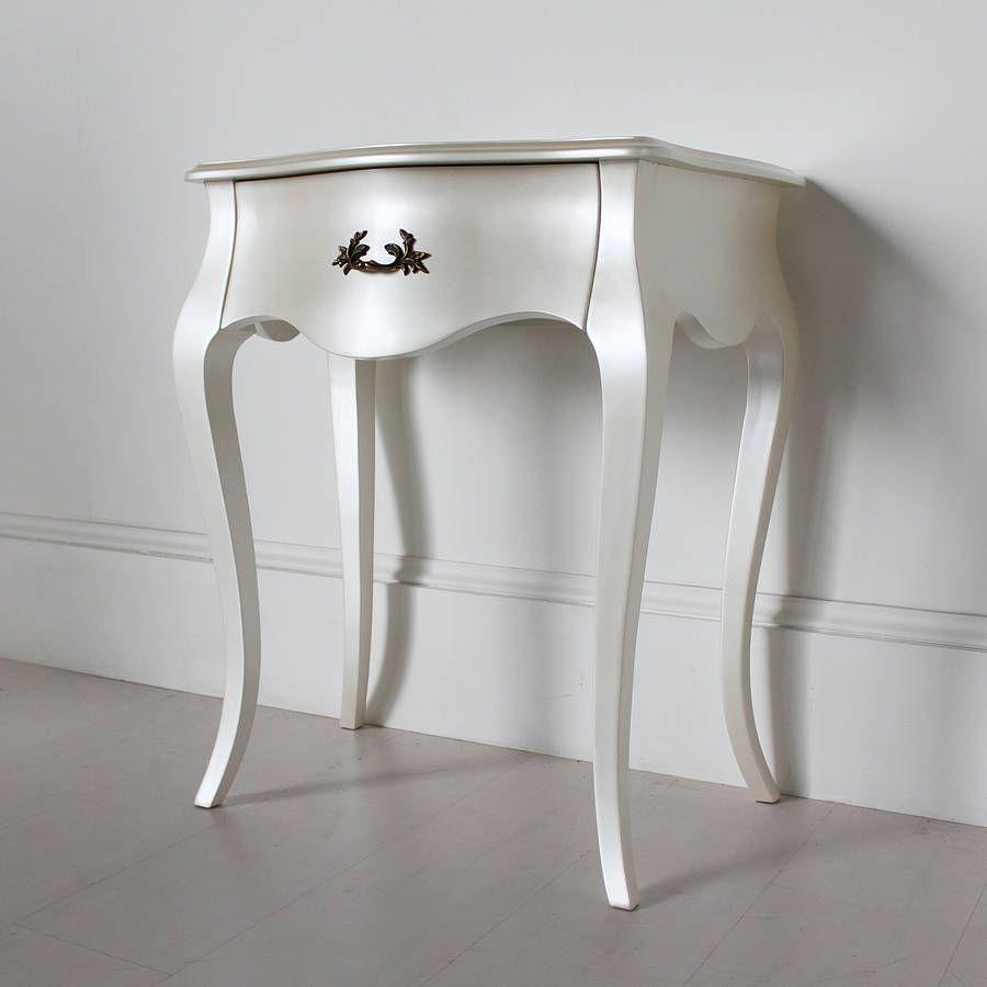 mesa vintage velador blanco   Ideas de Muebles Vintage   Pinterest ...
