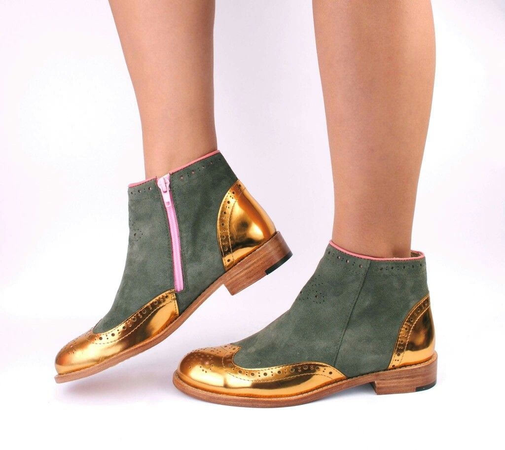 Original ABO suede ankle boots. Check our web store WWW.ABO-SHOES ...