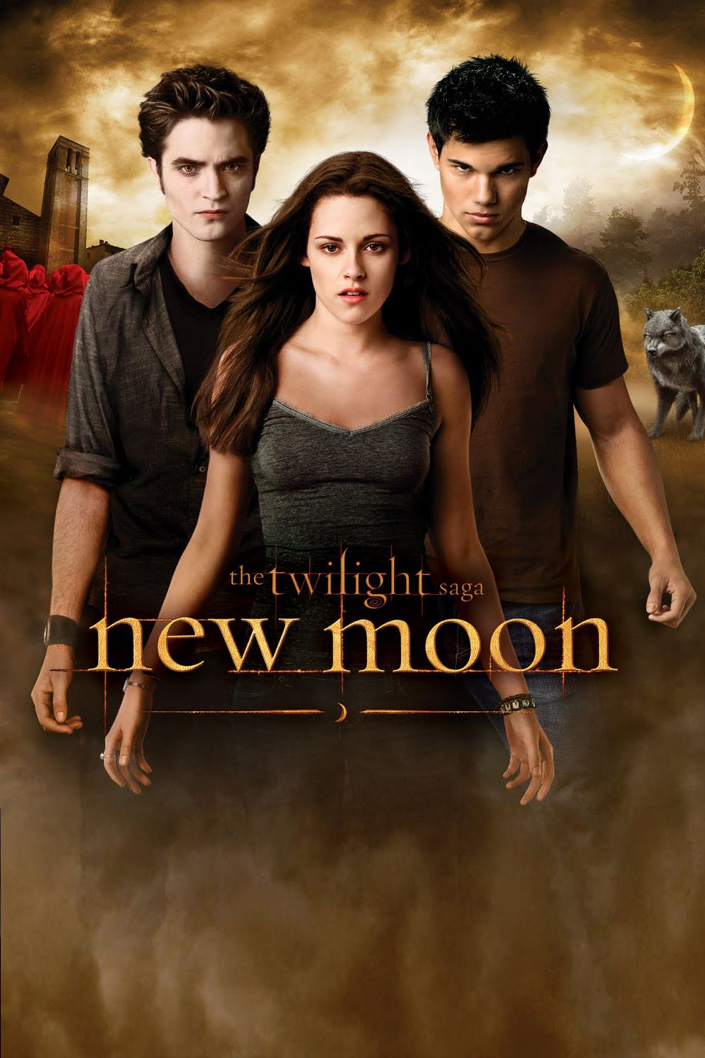 Twilight New Moon The Saga Cover Artwork