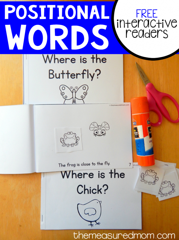Free Positional Words Activity Babies And Tots Pinterest