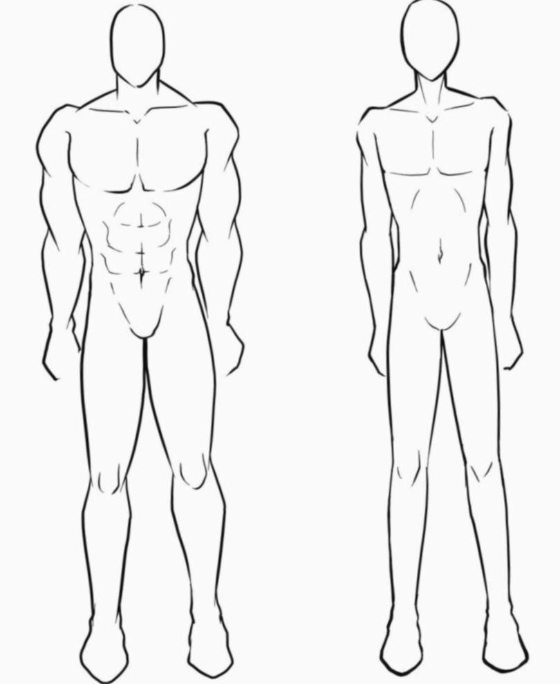 Anime Sketch Boy Body Myheroacademiacosplay Mhacosplay Cosplay Outline Drawings Body Drawing Face Drawing